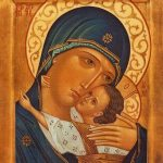 maria Jezus dragen