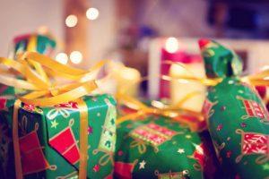 kerst cadeautjes draagdoek