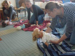 draagworkshop draagconsult kinderopvang workshop draagdoek draagdoeken draagzak