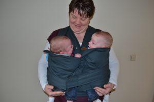 Een tweeling, een rolstoel en schouderklachten: zo opgelost!