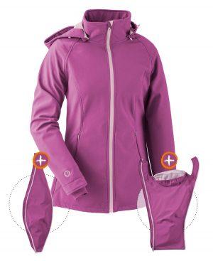 mamalila fuchsia pink softshell