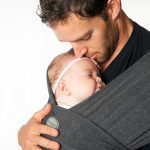 Moby wrap bamboe antraciet (charcoal)