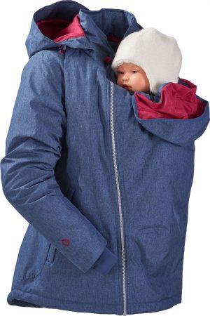 mamalila winter draagjas blauw