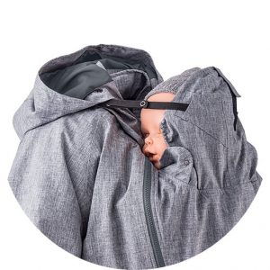 winterjas baby met hoofdsteun capuchon