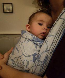 leeftijd draagdoek leeftijd draagzak 2-6 maanden