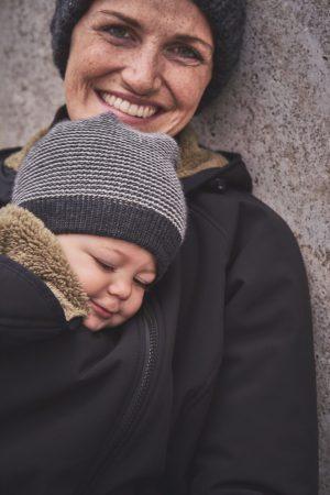 mamalila gevoerde softshell allweather winter jacket