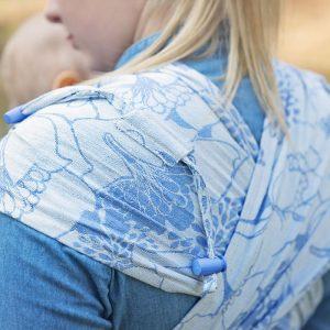 Hop tye Florenz blauw linnen