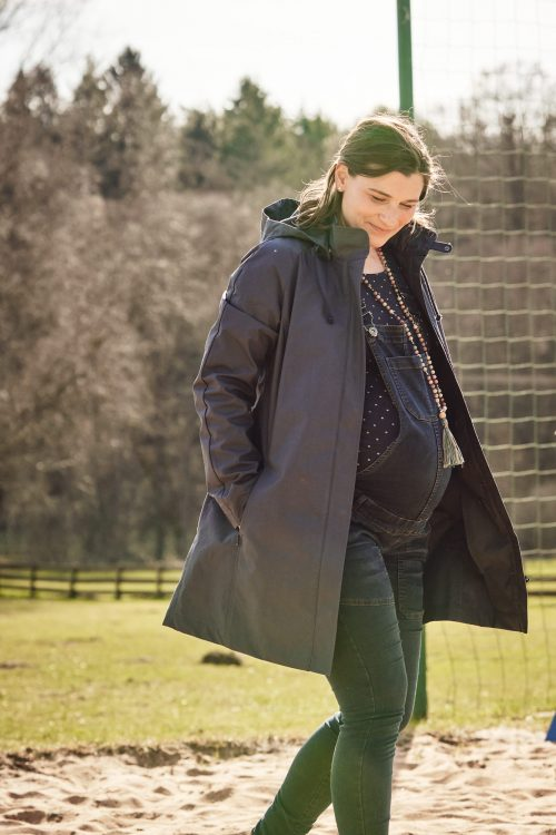 mamalila short coat berlin draagmantel