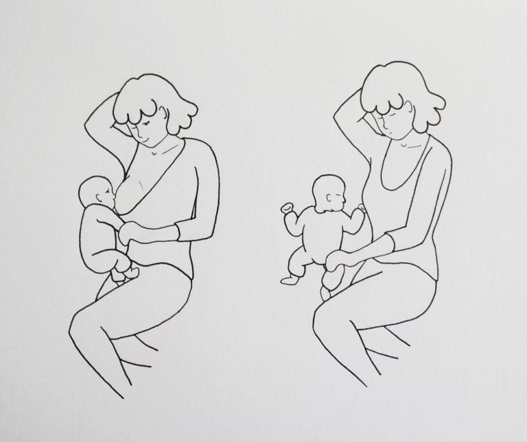samen slapen borstvoeding