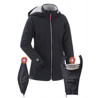 mamalila gevoerde softshell all weather jacket winter