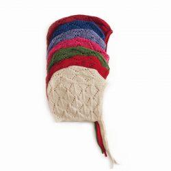 ajour baby mutsje katoen Titicaca fair trade