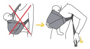 mini monkey mini sling veiligheid