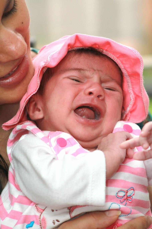 baby allergie huilen reflux